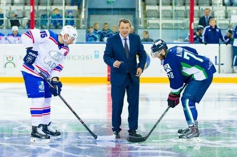 Василий Филипенко: ХК «Югра» - это не только хоккейная команда, но и большой социальный проект